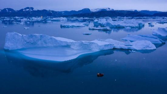 Eis vor Grönland schmilzt immer schneller