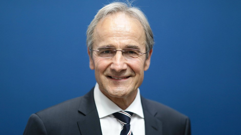 Karl-Heinz Streibich, der Präsident der Deutschen Akademie der Technikwissenschaften (acatech)