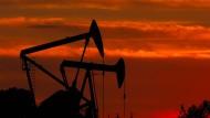 Die Ölpumpen in Amerika (Bild) haben höhere Kosten als die Ölfelder am Golf.