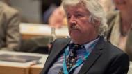 Plant den Wahlkampfauftakt in Wiesbaden: Rainer Rahn, Spitzenkandidat der hessischen AfD