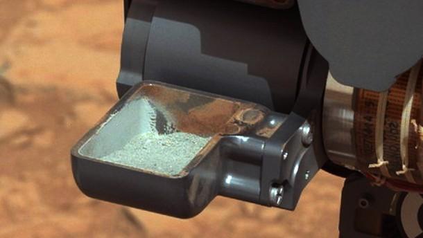 """""""Curiosity"""" entnimmt Probe vom Marsgestein"""