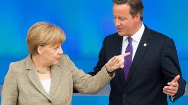Zwei, die sich nicht immer einig sind: Bundeskanzlerin Angela Merkel und der britische Premierminister David Cameron