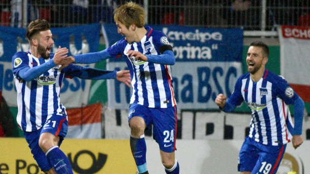 Hertha träumt weiter vom Finale daheim