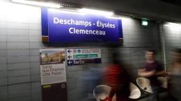 """Nächster Halt: """"Deschamps-Èlysées"""""""
