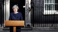 Theresa May am Dienstag in London