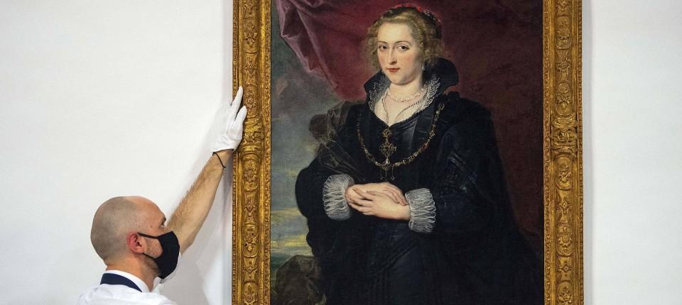 """Das """"Porträt einer Dame"""" des Malers Peter Paul Rubens wird auf zwischen 2,5 und 3,5 Millionen britische Pfund geschätzt."""