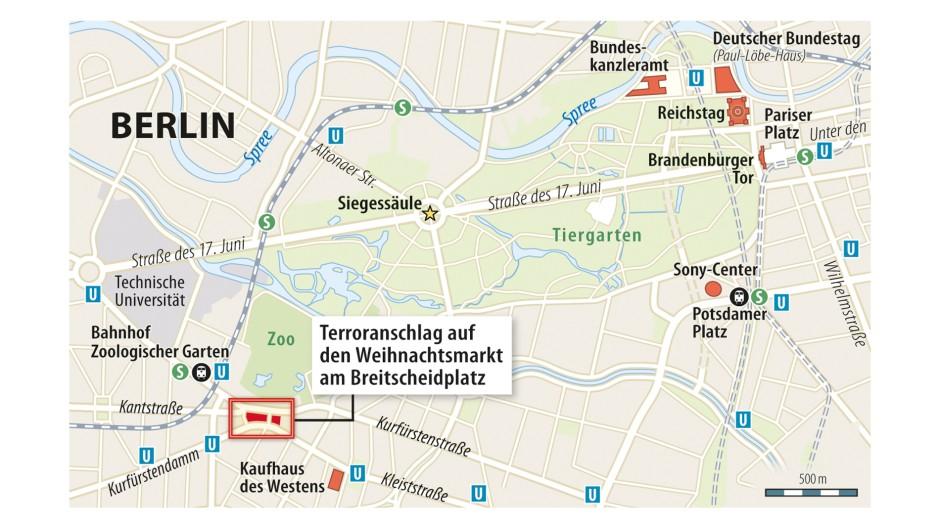 bilderstrecke zu nach anschlag in berlin wo ist der fl chtige t ter bild 2 von 18 faz. Black Bedroom Furniture Sets. Home Design Ideas