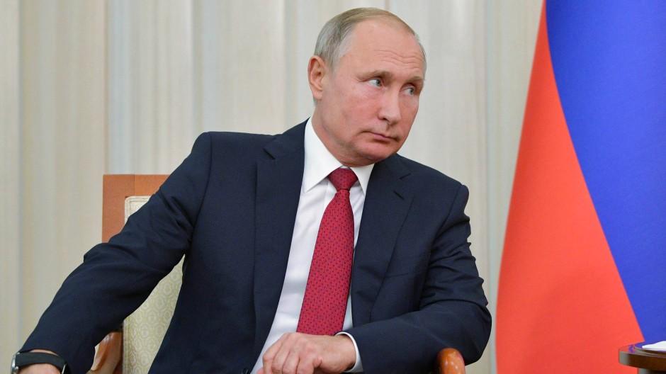 Der russische Präsident Wladimir Putin Ende September in Baku