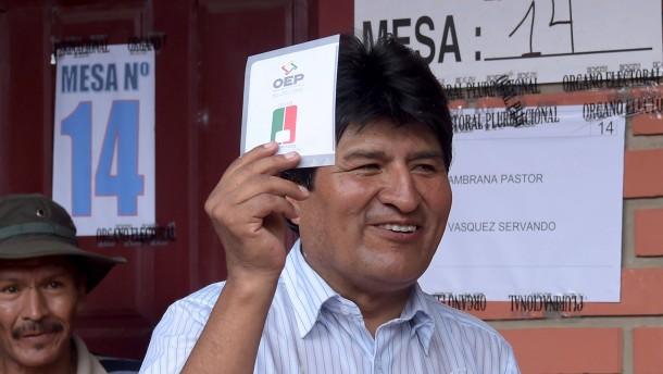 Morales verliert offenbar Referendum