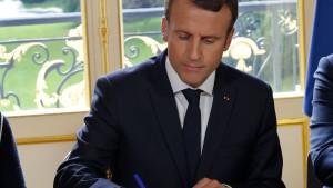 Enttäuschung für Macron bei Senatswahlen in Frankreich