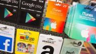 Google, Apple, Facebook, Amazon - inzwischen sind alle an der Ladenkasse.