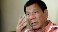 """Rodrigo Duterte: """"Vergesst Gesetze und Menschenrechte!"""""""