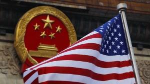"""China wirft Amerika """"Mentalität aus Kaltem Krieg"""" vor"""