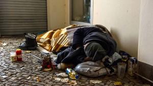 Zahl der Obdachlosen 2018 gestiegen