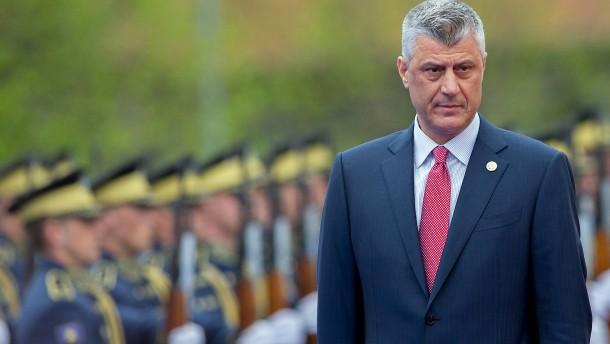 Kosovarischer Präsident angeklagt