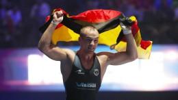 Frank Stäbler ist Weltmeister