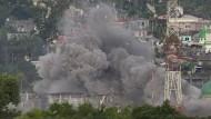 Heftige Kämpfe gegen Islamisten im philippinischen Marawi