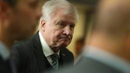 Seehofer gibt CSU-Vorsitz Mitte Januar ab