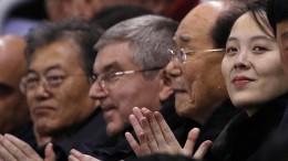 Kim Jong-un zufrieden mit Olympia-Empfang