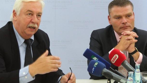 Sachsen-Anhalts Verfassungsschutzchef gibt Amt auf
