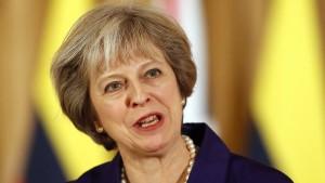 May: Brexit-Zeitplan bleibt unverändert