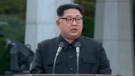 Mit dem Treffen in Panmunjom legten Kim Jong-un und der südkoreanische Präsident Monn Jae-in den Grundstein zu einer Annäherung.