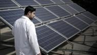Blockade fördert Solarboom