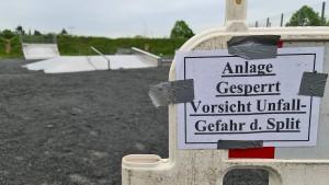 Stadt Dieburg schüttet ihren Skatepark zu