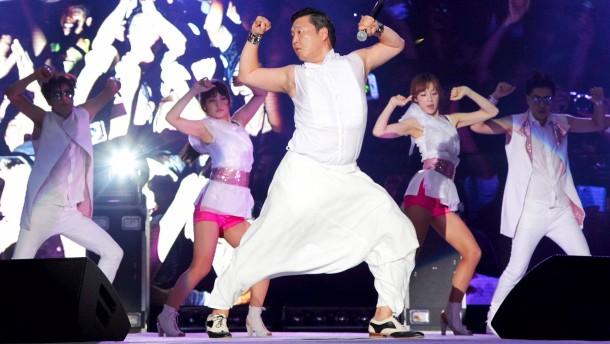 Weltrekord für «Gangnam-Style»-Video von Sänger Psy