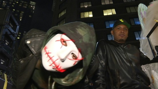 Halloween-Parade im New York-Style