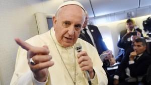 Papst befürwortet Einsatz im Nordirak