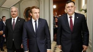 Libyens Kontrahenten einigen sich auf Waffenruhe