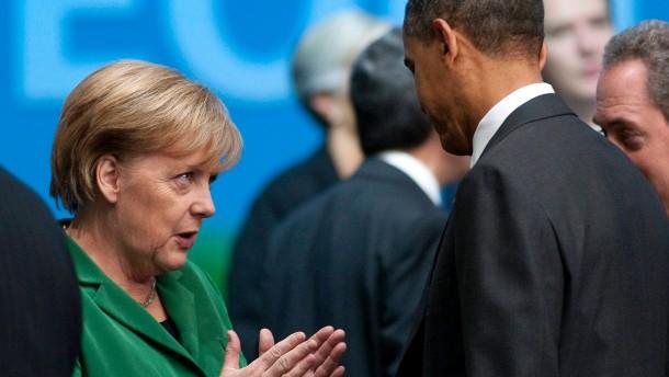 Merkel und Obama weiter für Freihandel
