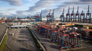 Stärkster Exporteinbruch seit Finanzkrise