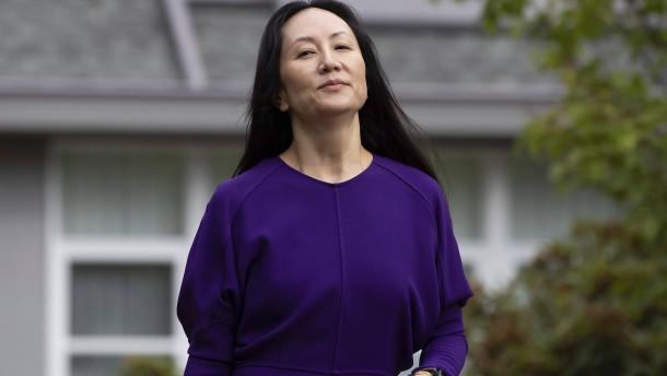 Huawei-Finanzchefin geht Deal mit den USA ein