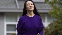 Huawei-Managerin Meng und US-Justiz erzielen Einigung