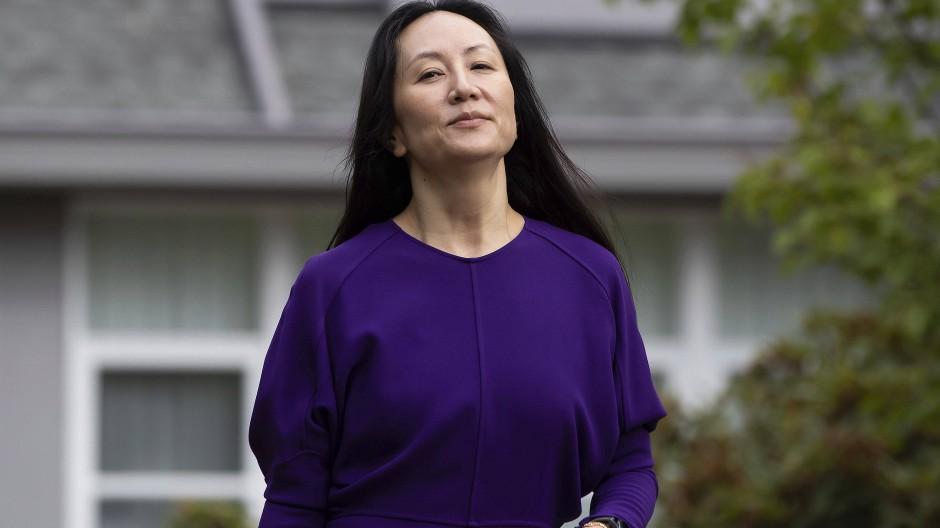 Sorgt für diplomatischen Streit: Meng Wanzhou im August in Vancouver