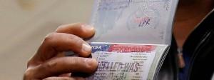 Ein von den Behörden für ungültig erklärtes Visum