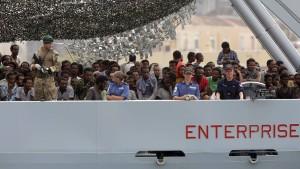 Flüchtlinge als Devisenquelle