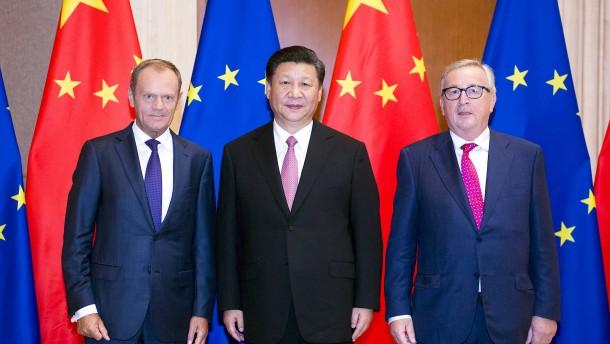 Pekings Forderungen an Brüssel