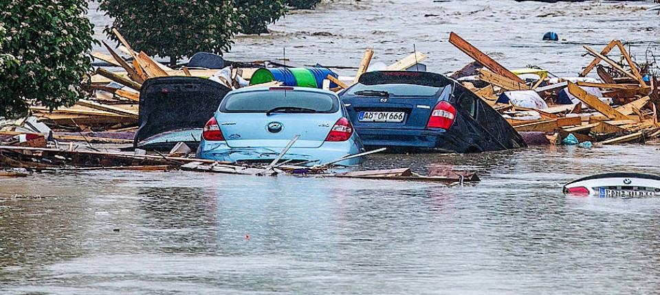 überflutung Niederbayern