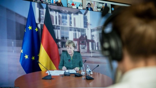 Merkel: Nicht beim Klimaschutz sparen