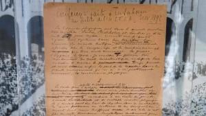 Olympia-Manifest für Rekordsumme versteigert