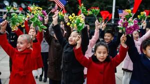 China bezichtigt Trump der Doppelmoral