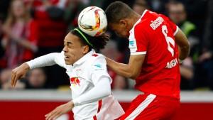 Poulsen schießt Leipzig zum Sieg gegen Düsseldorf