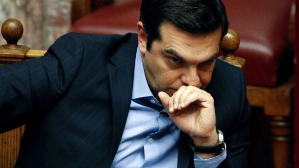 Tsipras verordnet seinem Land harte Sparmaßnahmen