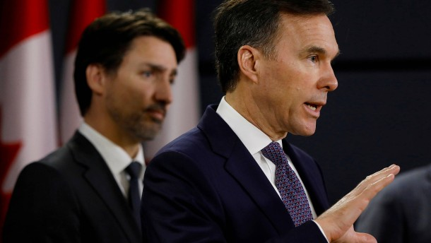 Kanadas Finanzminister Morneau tritt zurück
