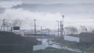 Taifun Lionrock fordert mehrere Tote