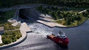Norwegen bekommt den größten Schiffstunnel der Welt