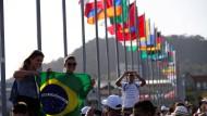 Pilger aus aller Welt kommen zum katholischen Weltjugendtag nach Panama.